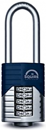 Squire Vulcan Combi 60/2.5 Long Shackle Padlock